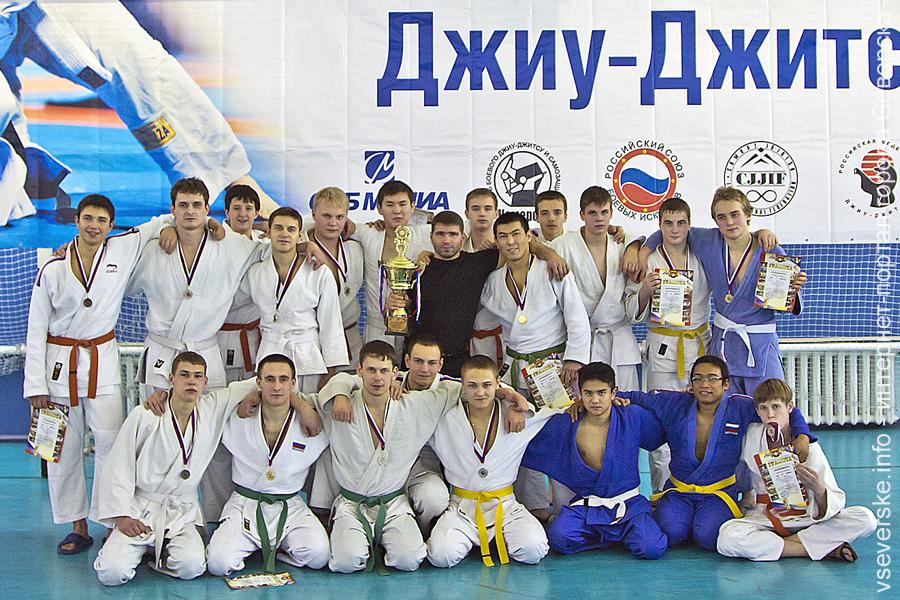 Северчане в составе томской команды завоевали кубок Кузбасса