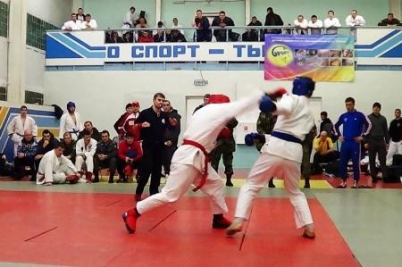 Северские военные заняли 1 место на чемпионате по рукопашному бою