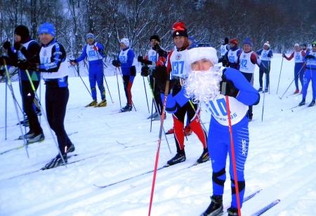Новогодняя лыжная гонка - 2013