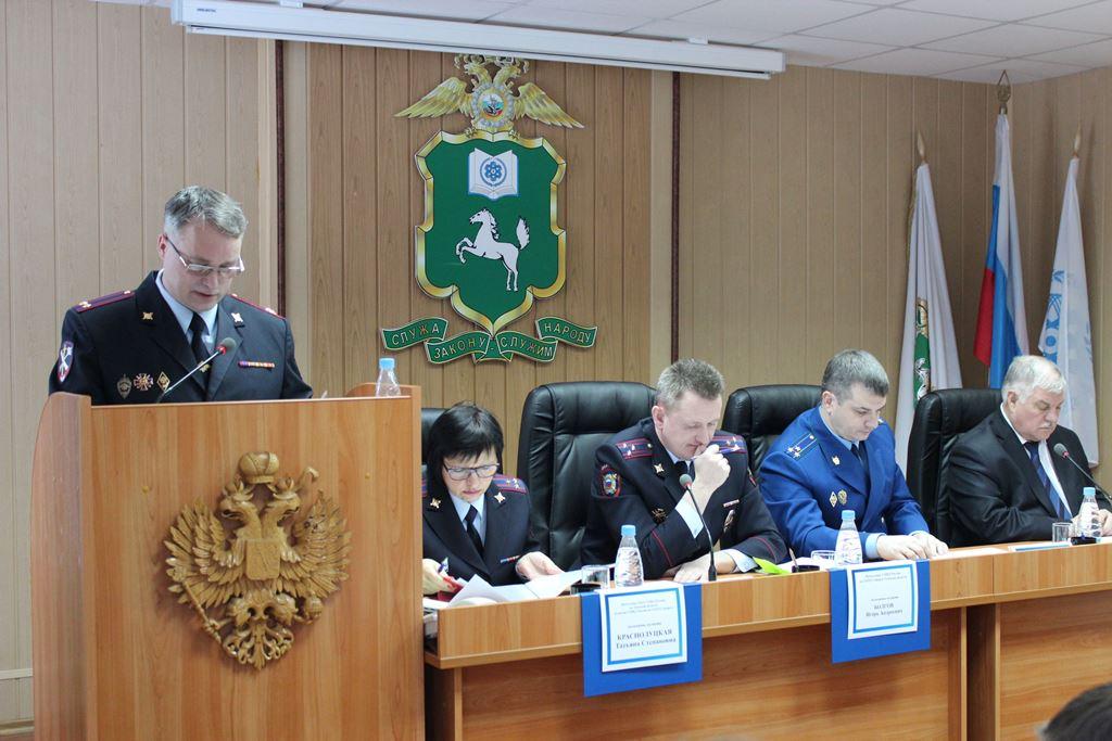 Северские полицейские подвели итоги работы за 2013 год