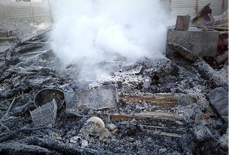 В Иглаково из-за пожара в бане загорелись два дома