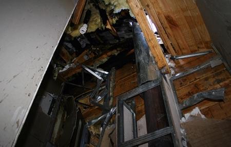 В Иглаково пожарные ликвидировали возгорание кровли одного из домов