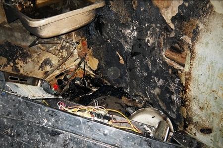 20 человек спасено на пожаре по улице Леонтичука