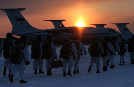 Россия перебросила войска на полигоны
