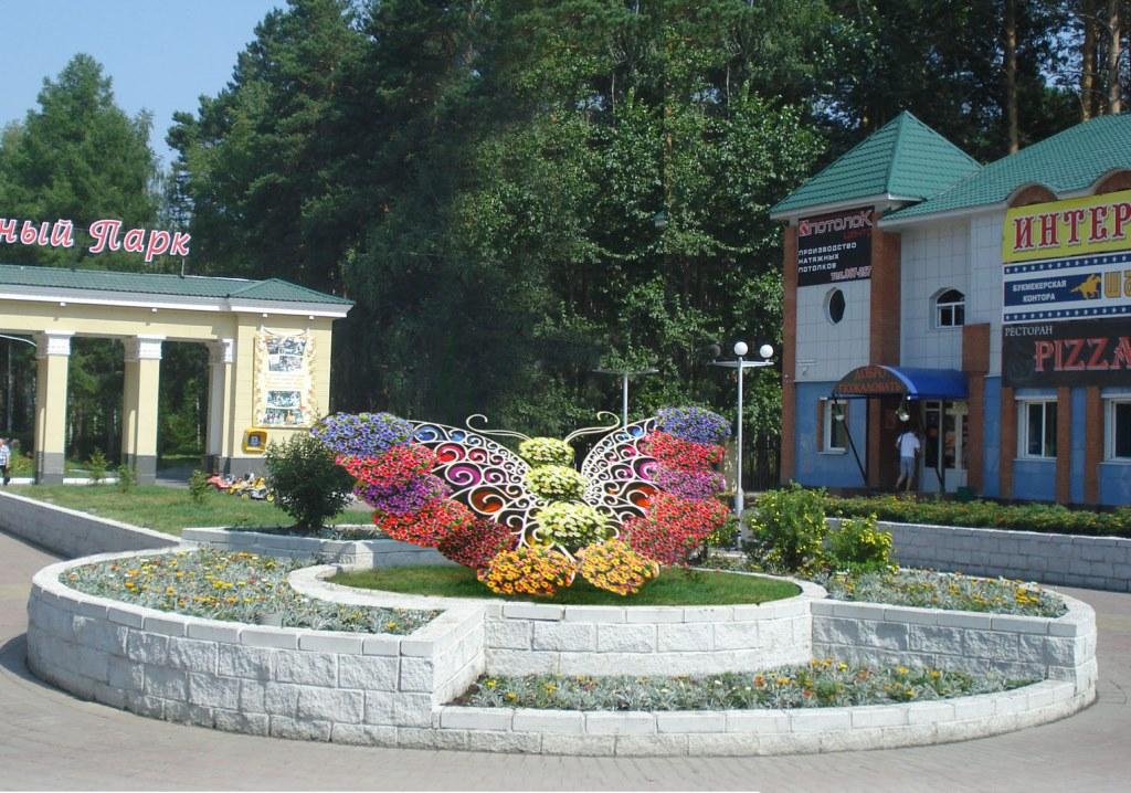 Ко Дню города в Северске появятся светодинамический фонтан и цветочные часы