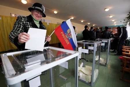 За присоединение Крыма к РФ проголосовало 95,7% участников референдума