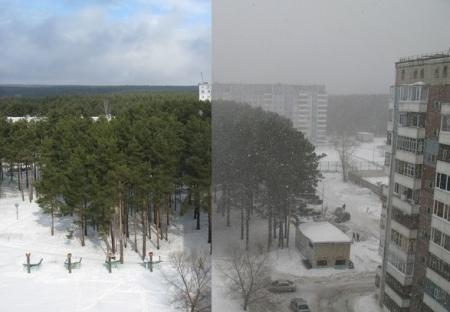 Весна в Северске