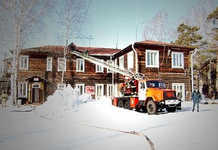 В Самусьской больнице прошли пожарные учения
