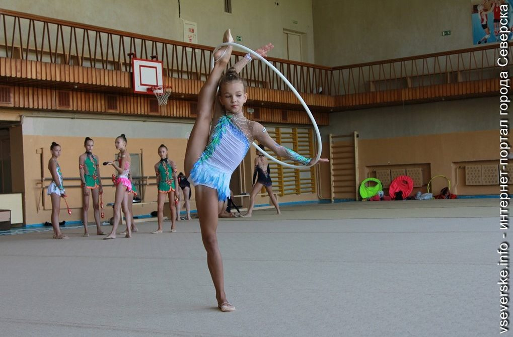 Северская гимнастка Брушевич Злата отличилась на соревнованиях в Москве