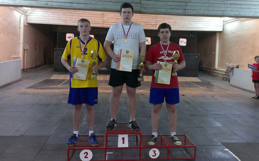 Северчанин Найкин Егор включен в состав сборной команды России по городошному спорту