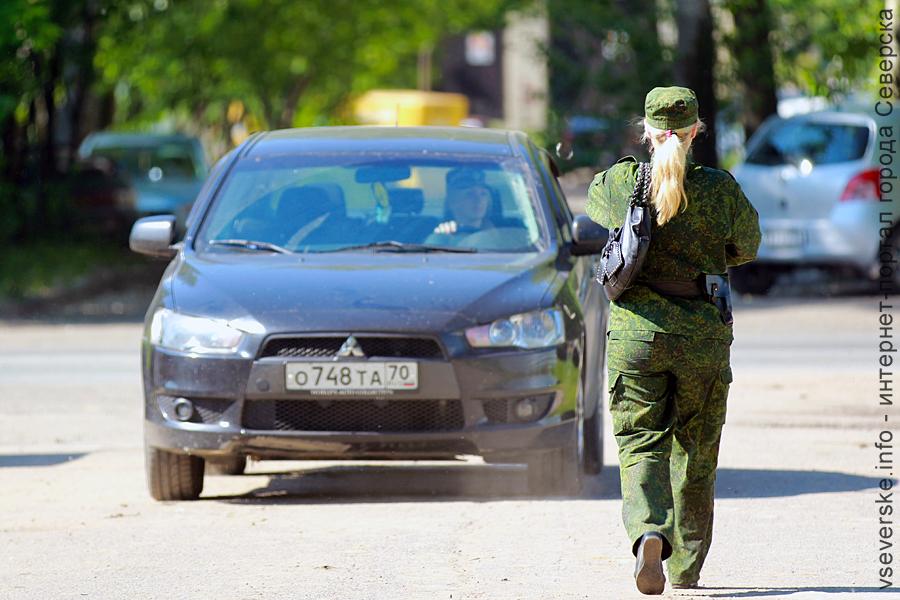 Борьба с автовладельцами северской дивизии
