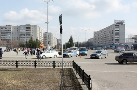 Женщина сбита на пешеходном переходе