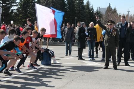 В городе пройдет легкоатлетическая эстафета в честь Дня Победы