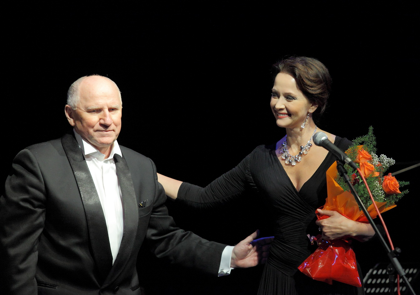 Валерий Баринов и Ольга Кабо посетили Северск
