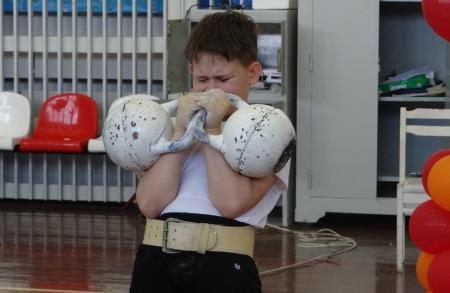 Первенство ЗАТО Северск по гиревому спорту