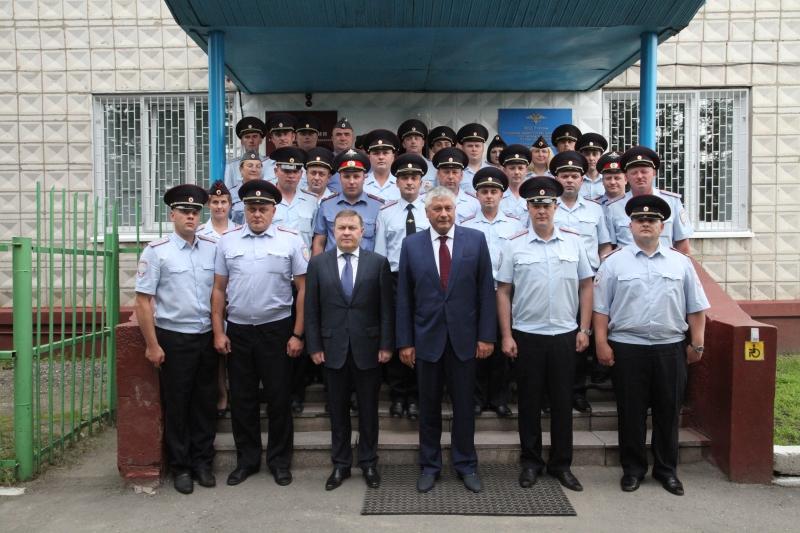 Владимир Колокольцев посетил Северск