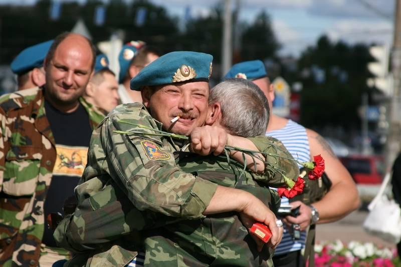 Десантники отметят день ВДВ