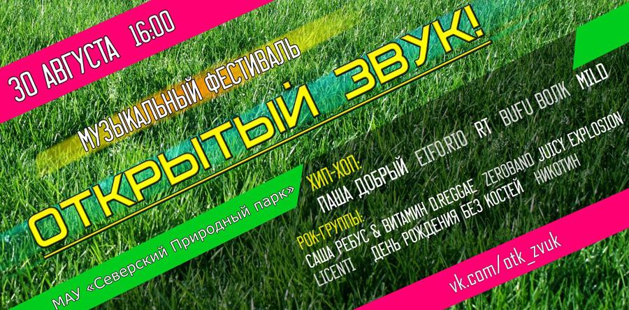 Музыкальный фестиваль «Открытый звук»