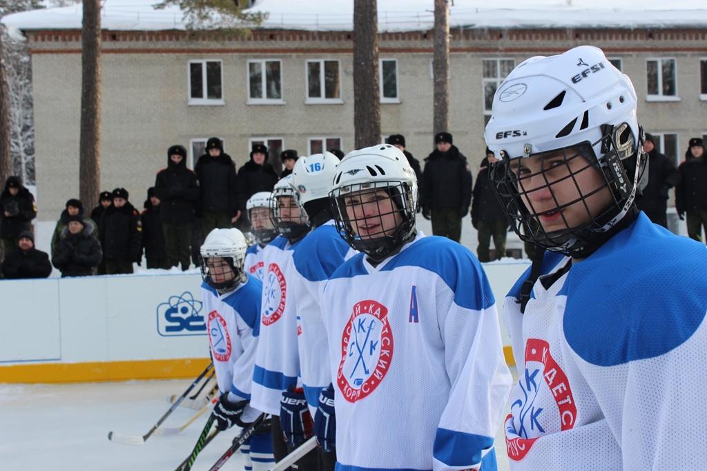 В Северске открылся еще один хоккейный корт