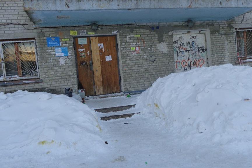 Работа ЖЭУ по адресу ул.Крупская, 14а