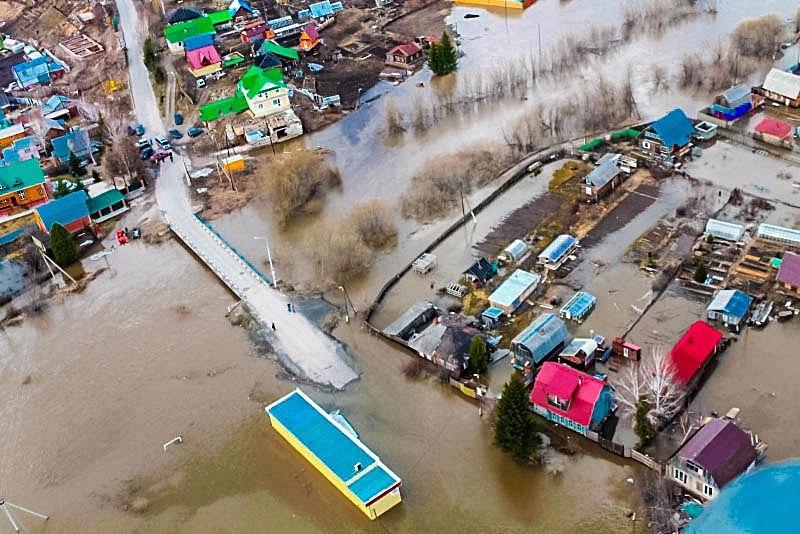 В деревне Орловка подтоплены 5 дачных участков