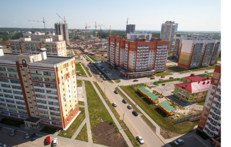 В городе появится новый жилой микрорайон с благоустроенной территорией