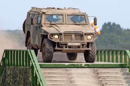 Сегодня на улицах Северска можно увидеть военную технику