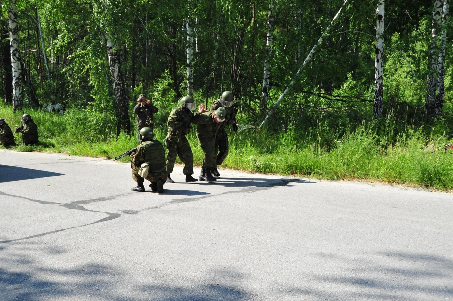 В Северске прошли антитеррористические учения