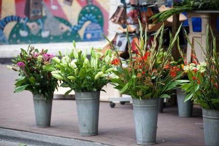 Сегодня в городе работает цветочная ярмарка