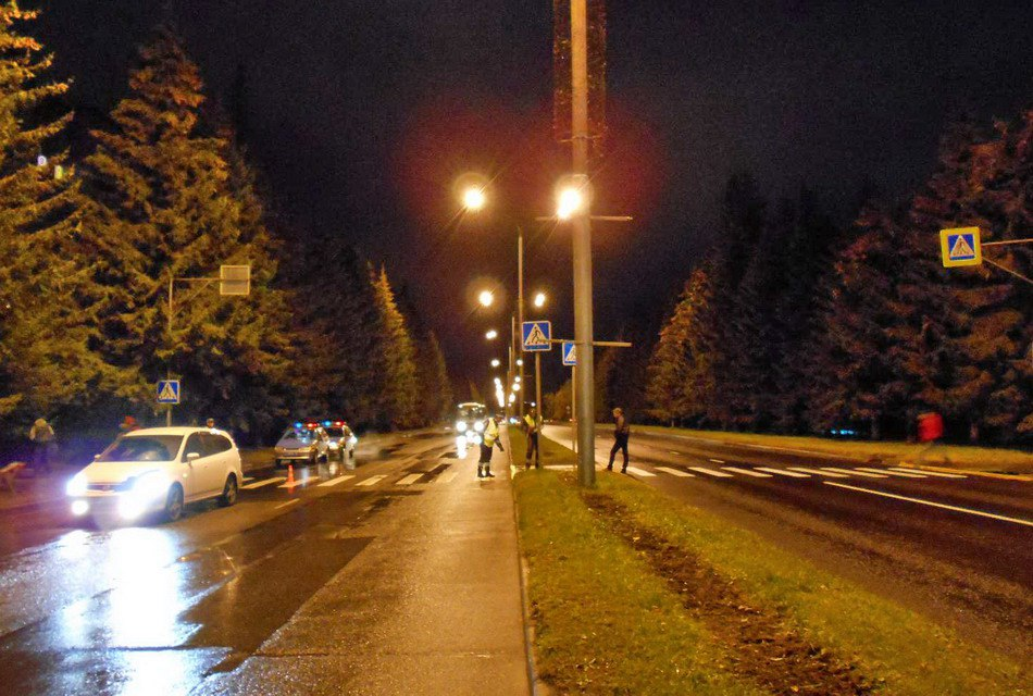 На проспекте Коммунистическом сбили девушку-пешехода
