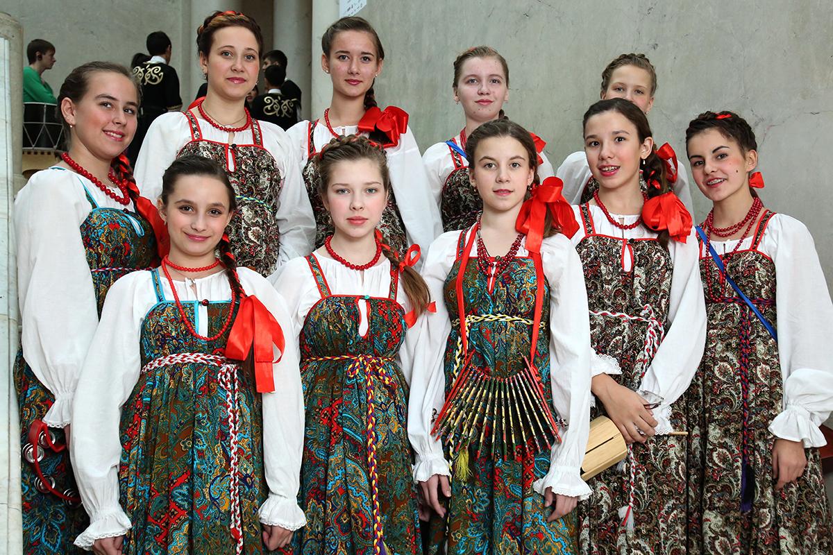 Северский ансамбль «Садко» пригласили выступить в большом колонном зале Дома союзов в Москве