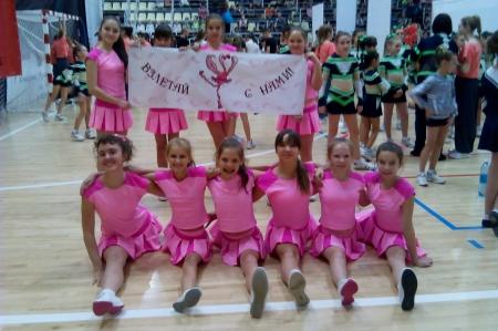 Северская сборная завоевала серебро на Чемпионате Кемеровской области по черлидингу