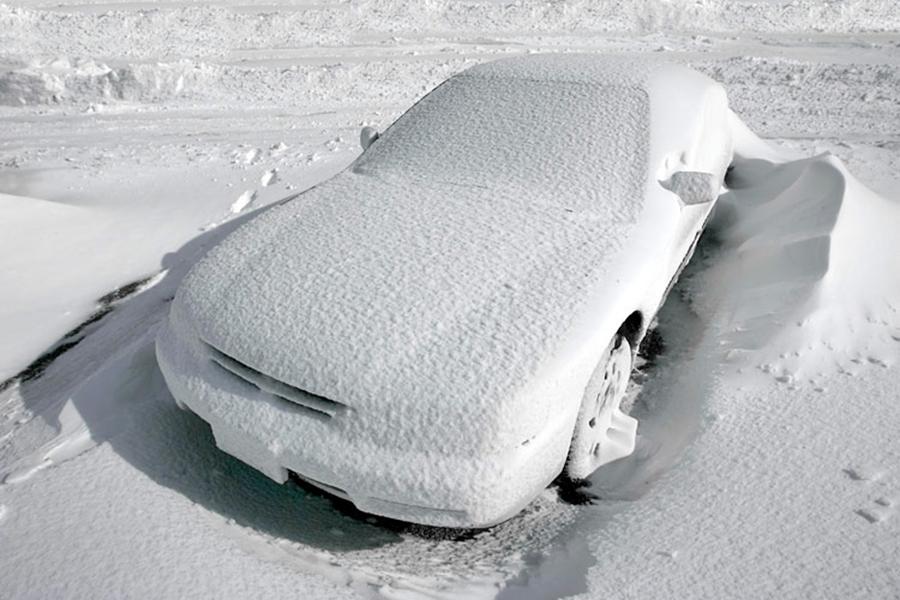 Холодно? Поставь машину в тепло!