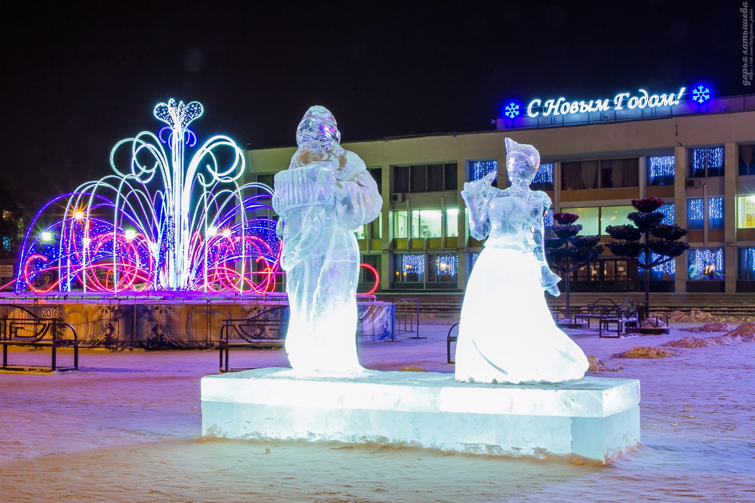 Новогодняя ночь будет холодной, а каникулы морозными