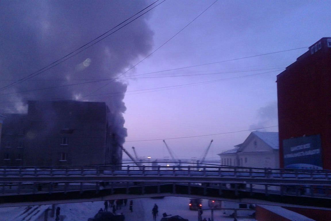 В Красноярском крае пенсионер поджег здание мэрии