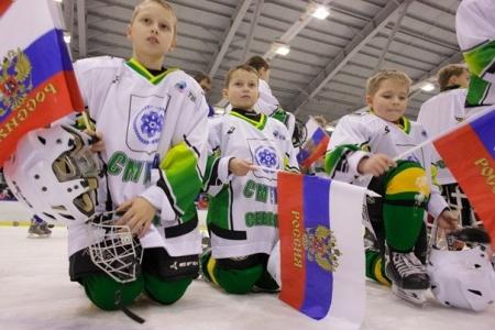 Ледовые баталии маленьких хоккеистов