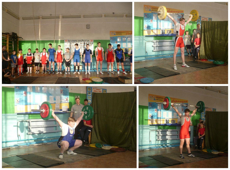 Юные тяжелоатлеты поборолись за призы «Деда Мороза»