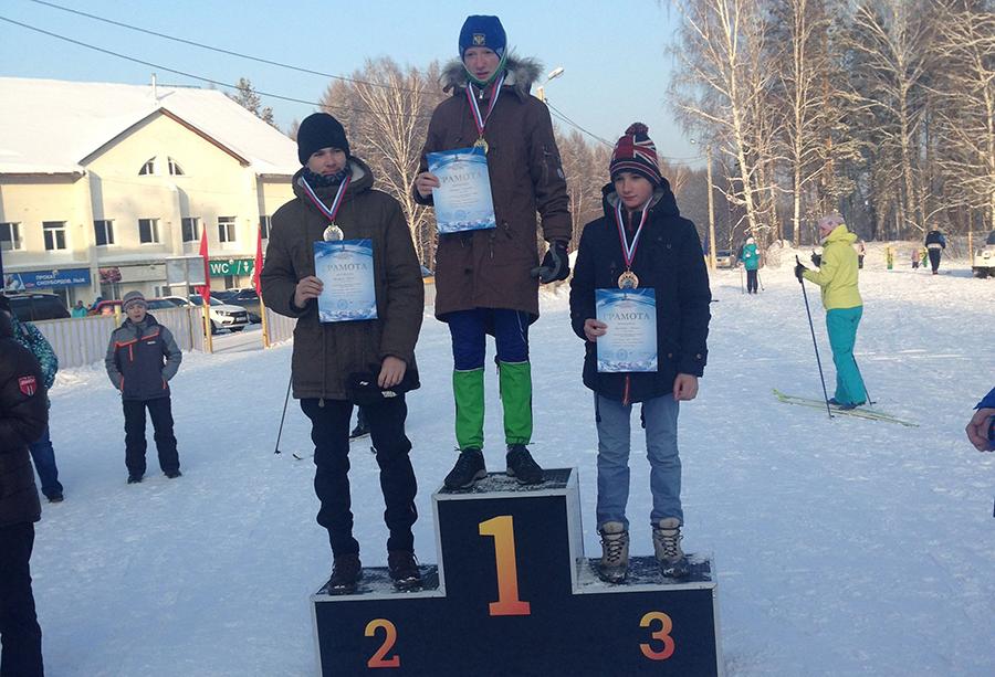 Северские лыжники достойно выступили на региональных соревнованиях