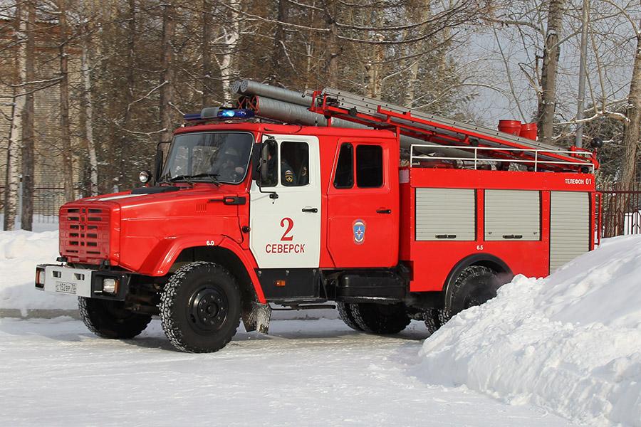 Под надежной защитой пожарных