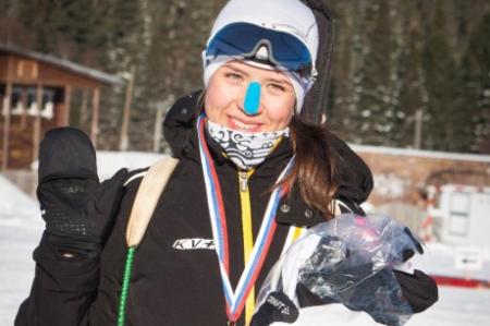 Понеделко Екатерина стала победителем Всероссийских соревнований по биатлону