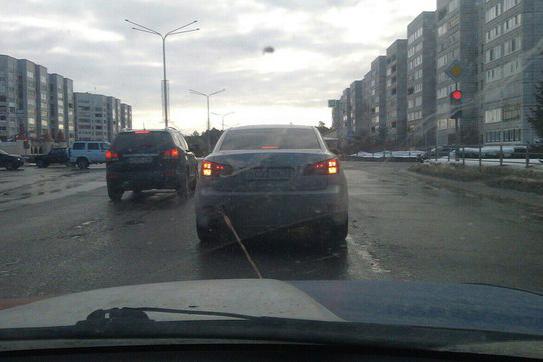Мир не без добрых автовладельцев