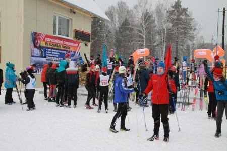 Динамовская лыжня северских спортсменов