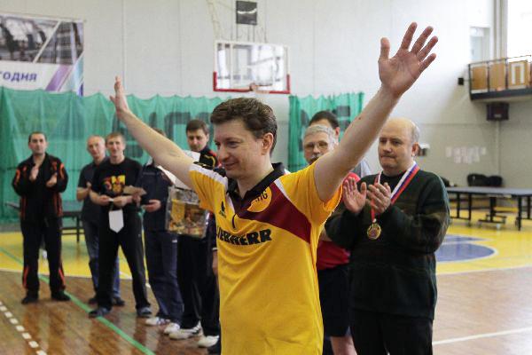Олег Первушин стал серебреным призером Чемпионата России по настольному теннису среди ветеранов