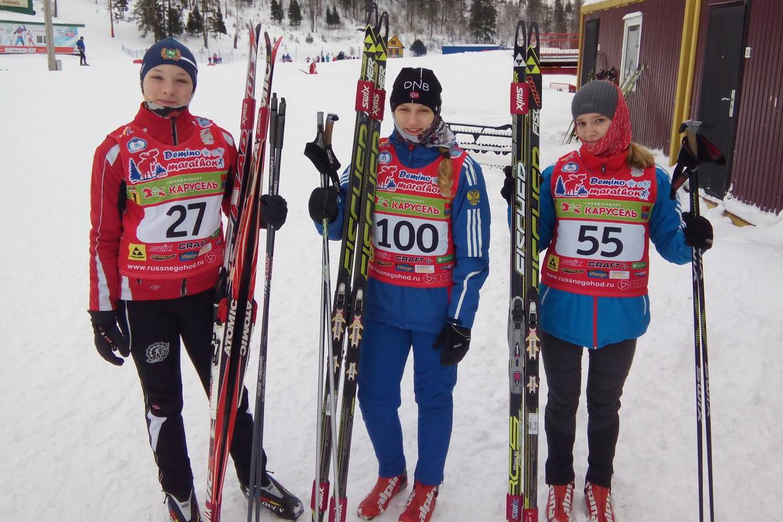 Успехи северских лыжников