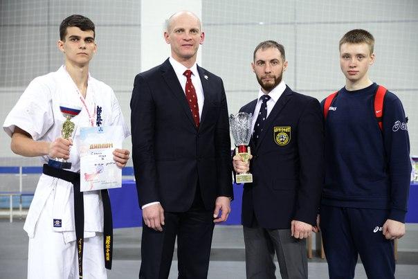 Савин Илья стал бронзовым призёром чемпионата СФО по Киокусинкай