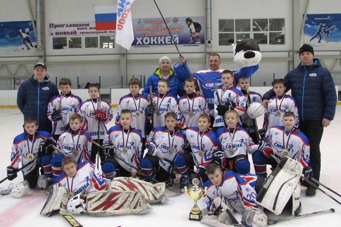 «Золотая шайба» северских хоккеистов