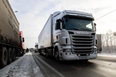 С 1 апреля вводится временное ограничение движения большегрузного транспорта