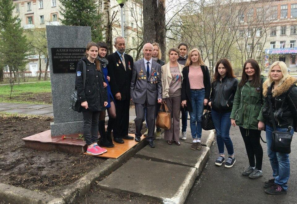 Студенты приняли участие в митинге, посвященном 30-летней годовщине чернобыльской трагедии