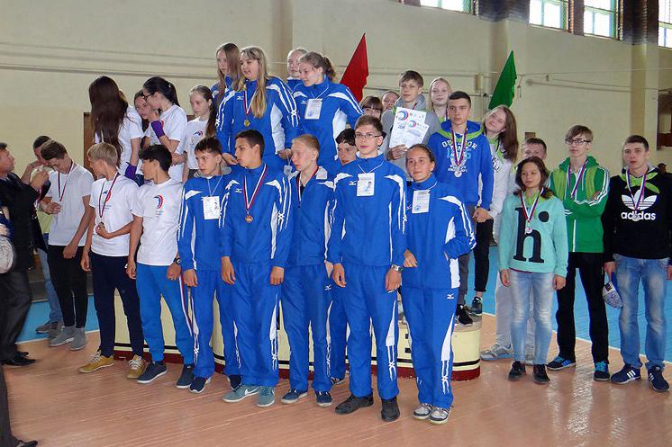 Сборная гимназии заняла 1 место на региональном этапе Президентских спортивных игр