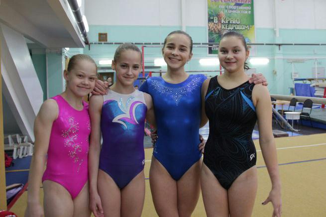 Северские гимнасты вернулись с наградами